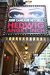 'Hedwig and the Angry Inch' Marquee starring John Cameron Mitchell