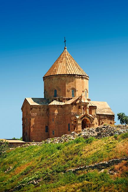 10th century Armenian Orthodox Cathedral of the Holy Cross on Akdamar Island, Lake Van Turkey 72