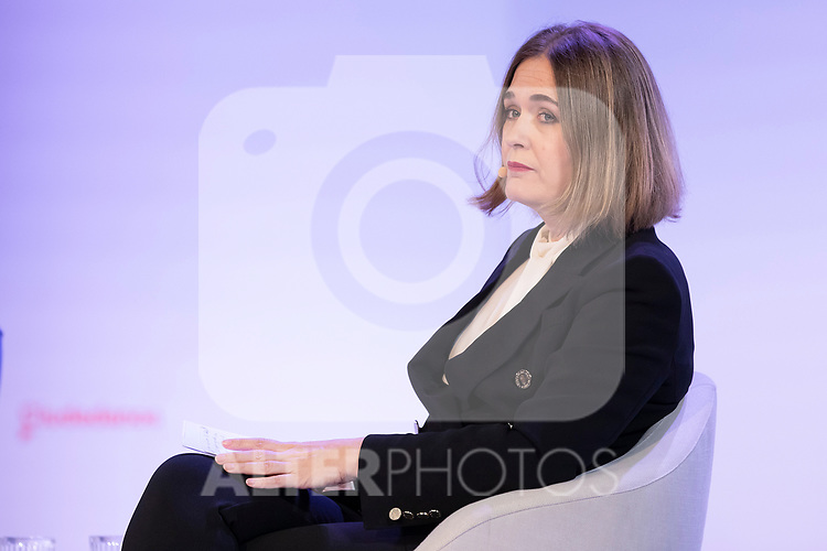 "Counsellor of culture and tourism Marta Rivera during the citizen meeting ""Espana en marcha"". October 24, 2019. (ALTERPHOTOS/Johana Hernandez)"