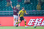 Borussia Dortmund Midfielder Andre Schurrle (R) in action during the International Champions Cup 2017 match between AC Milan vs Borussia Dortmund at University Town Sports Centre Stadium on July 18, 2017 in Guangzhou, China. Photo by Marcio Rodrigo Machado / Power Sport Images
