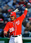 2 April 2011: Washington Nationals outfielder Jayson Werth in action against the Atlanta Braves at Nationals Park in Washington, District of Columbia. The Nationals defeated the Braves 6-3 in the second game of their season opening series. Mandatory Credit: Ed Wolfstein Photo