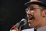 DC Stage, Kaohsiung -- Vocalist Jack Yeh in action during a performance of SMALLS JAZZ COMBO.