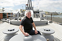Australian tourist Michael Hunter looks around HMS Caroline, Wednesday July 3rd, 2019. HMS caroline is shortlisted in this year's Art Fund museum of the year.  (Photo by Paul McErlane for the Belfast Telegraph)