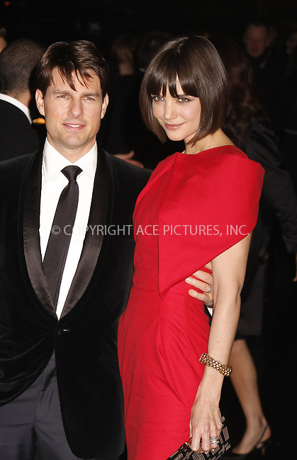 """WWW.ACEPIXS.COM . . . . .  ....February 6 2008, New York City....Tom Cruise and Katie Holmes arriving at """"A Night to Benefit Raising Malawi and UNICEF"""" hosted by Madonna and Gucci at theUnited Nations in midtown Manhattan.....Please byline: AJ Sokalner - ACEPIXS.COM..... *** ***..Ace Pictures, Inc:  ..te: (646) 769 0430..e-mail: info@acepixs.com..web: http://www.acepixs.com"""