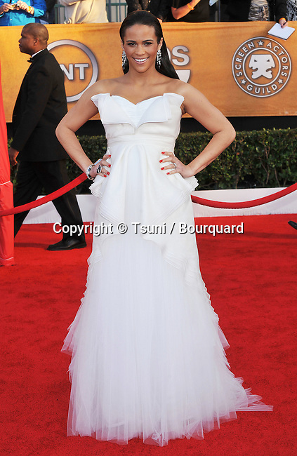 Paula Patton _90   -<br /> 16 th Annual Screen Actors Guild Awards at the Shrine Auditorium in Los Angeles.