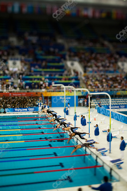 Men's 1500 freestyle final,.National Aquatics Center,.Beijing, China, August 17, 2008