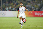21 August 2008: Shannon Boxx (USA). The United States Women's National Team defeated Brazil's Women's National Team 1-0 after extra time at the Worker's Stadium in Beijing, China in the Gold Medal match in the Women's Olympic Football tournament.