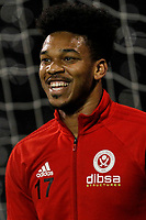Jamal Blackman of Sheffield United during the Sky Bet Championship match between Fulham and Sheff United at Craven Cottage, London, England on 6 March 2018. Photo by Carlton Myrie.