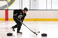 September 11, 2018: Boston Bruins defenseman Torey Krug (47) skates during the Boston Bruins training camp at Warrior Ice Arena in Brighton Mass. Eric Canha/CSM