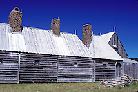Nova Scotia, Annapolis Royal, NS, Canada, Port Royal National Historic Site-The Habitation in Annapolis Royal.