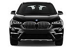 Car photography straight front view of a 2018 BMW X1 xDrive28i 5 Door SUV