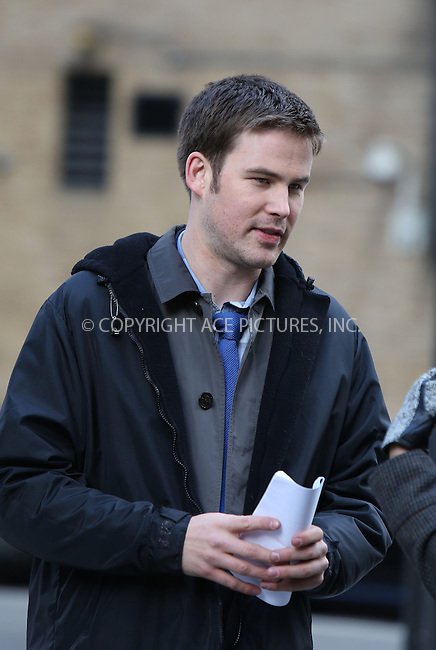 WWW.ACEPIXS.COM....March 26 2013, New York City....Actor Zach Cregger on the set of the new movie 'Assistance' on March 26 2013 in New York City.......By Line: Philip Vaughan/ACE Pictures....ACE Pictures, Inc...tel: 646 769 0430..Email: info@acepixs.com..www.acepixs.com