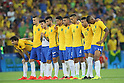 Brazil team group (BRA), <br /> AUGUST 20, 2016 - Football / Soccer : <br /> Men's Final <br /> between Brazil - Germany <br /> at Maracana <br /> during the Rio 2016 Olympic Games in Rio de Janeiro, Brazil. <br /> (Photo by YUTAKA/AFLO SPORT)