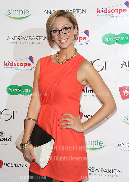 Lucy Jo Hudson arriving for the Specsavers Spectacle Wearer of the Year 2012 held at Battersea Power Station, London. 30/10/2012 Picture by: Henry Harris / Featureflash