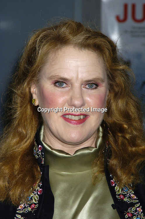 "Celia Weston ..at the New York Premier of ""Junebug"" on August 1, 2005..at the Loews 19th Street Theatre. ..Photo by Robin Platzer, Twin Images"