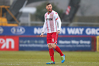 Jack King of Stevenage during Stevenage vs Luton Town, Sky Bet EFL League 2 Football at the Lamex Stadium on 10th February 2018