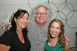 Deborah Neasi-Miller, Bob Rohm-Miller, Jessica Yellin==<br /> LAXART 5th Annual Garden Party Presented by Tory Burch==<br /> Private Residence, Beverly Hills, CA==<br /> August 3, 2014==<br /> &copy;LAXART==<br /> Photo: DAVID CROTTY/Laxart.com==
