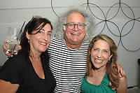 Deborah Neasi-Miller, Bob Rohm-Miller, Jessica Yellin==<br /> LAXART 5th Annual Garden Party Presented by Tory Burch==<br /> Private Residence, Beverly Hills, CA==<br /> August 3, 2014==<br /> ©LAXART==<br /> Photo: DAVID CROTTY/Laxart.com==