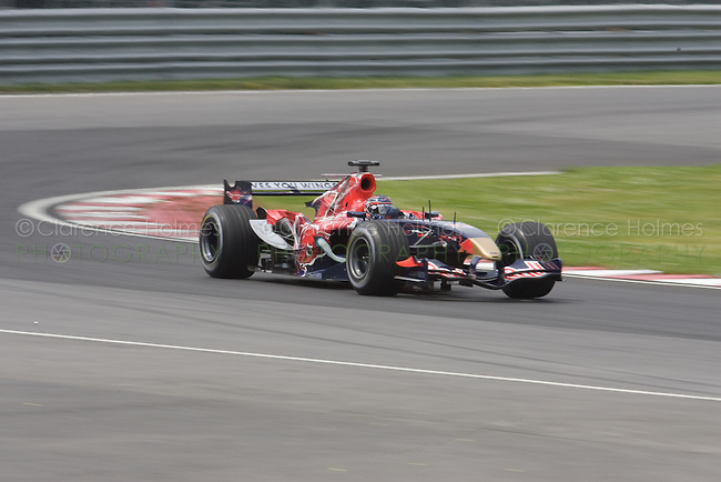MONTREAL - JUNE 23: American Scott Speed of Scuderia Toro Rosso on the track during the second practice session on the Friday prior to race weekend of the Canadian F1 Grand Prix at the Circuit Gilles-Villeneuve June 23, 2006 in Montreal, Canada.
