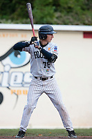 23 October 2010: Luc Piquet of Rouen is seen at bat during Savigny 8-7 win (in 12 innings) over Rouen, during game 3 of the French championship finals, in Rouen, France.