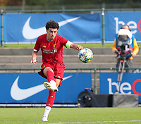 20191023 - Genk: Liverpool's captain Curtis Jones is pictured shooting the ball during the UEFA Youth League group stages match between KRC Genk Youth and Liverpool FC on October 23, 2019 at KRC Genk Stadium Arena B, Genk, Belgium. PHOTO:  SPORTPIX.BE   SEVIL OKTEM