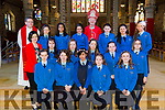 Confirmation day for the pupils of Aoife Ni Sheaghdha's 6th Class Presentation Primary School, on Friday in St John's Church, Tralee by the Bishop of Kerry Ray Browne and Fr. Bernard Healy