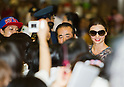 September 7, 2012, Narita, Japan - Australian model Miranda Kerr arrives at Narita International Airport in Chiba Prefecture, Japan. Kerr is in Japan to promote Samantha Thavasa. (Photo by Christopher Jue/AFLO)