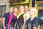 Staff at the Killarney Beauty Salon on High Street Valerie Lyne, Miriam Murphy, Siva Sikorska, proprietor, Pawel Sikorski and Anna Wilk.