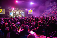 12th March 2020; M and S Bank Arena, Liverpool, Merseyside, England; Professional Darts Corporation, Unibet Premier League Liverpool; Fans enjoyinf the darts in Liverpool