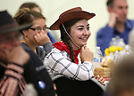 Alexis Gray listens to a speaker at the Western Nevada College Foundation Scholarship Celebration at Fuji Park in Carson City, Nev., on Friday, March 10, 2017. <br />Photo by Cathleen Allison/Nevada Photo Source