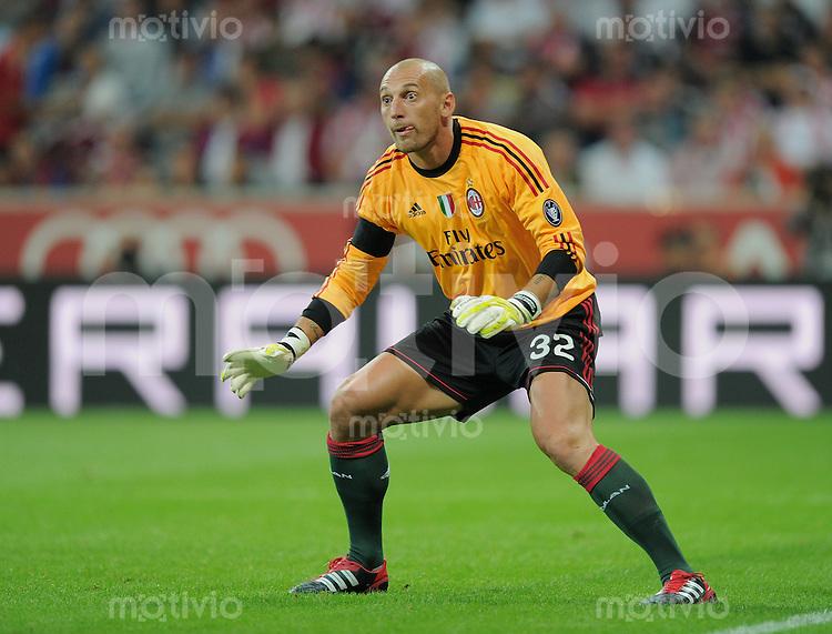 Fussball  International   Audi Cup 2011  Saison 2011/2012   26.07.2011 FC Bayern Muenchen - AC Mailand Torwart Christian Abbiati (AC Mailand)