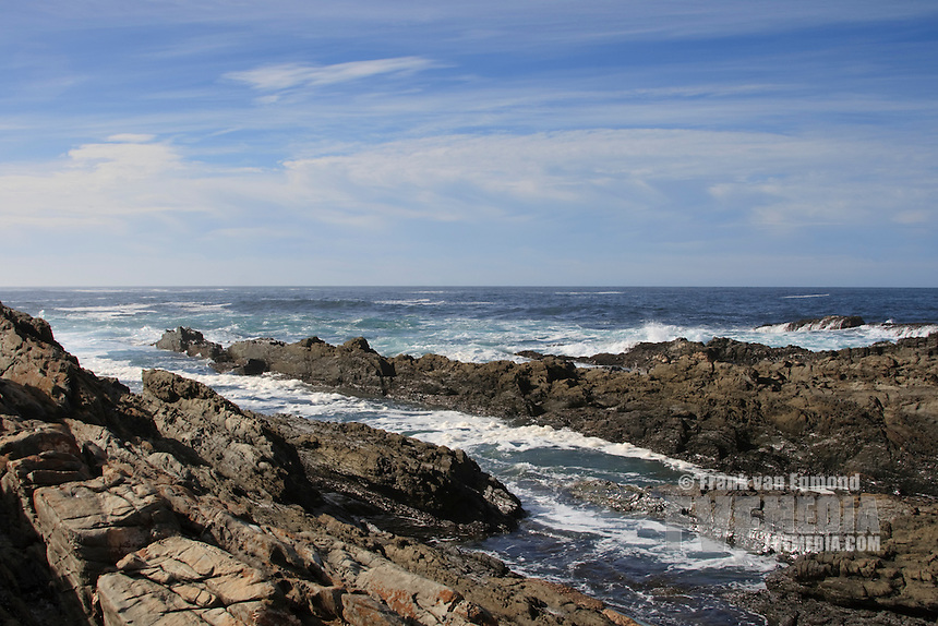 Tsitsikamma National Park coastline, along the garden route in South Africa
