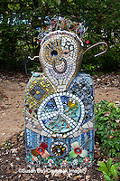 65821-00309 Garden Sculpture at North Carolina Botanical Garden, Chapel Hill, NC