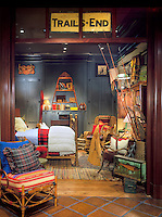 Commercial, interior, retail store, ralph lauren interiors, Rustic, unrefined,  warm, relaxed, style