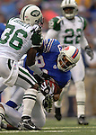 24 September 2006: Buffalo Bills wide receiver Lee Evans in action against the New York Jets at Ralph Wilson Stadium in Orchard Park, NY. The Jets defeated the Bills 28-20. Mandatory Photo Credit: Ed Wolfstein Photo