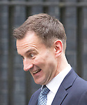 Day before the Budget 2013J..Jeremy Hunt outside Downing Street today 19.3.13.....Pic by Gavin Rodgers/Pixel 8000 Ltd