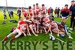 A delighted Kenmare/Kilgarvan/Dr Crokes U21 team winners of the U21 County Hurling Championship