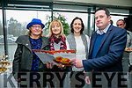 "At the "" Food Share Kerry "" launch in the ITT restaurant on Friday were l-r  Bridget O'Connor, NEWKD, Mary Flemming, NEKWD, Elaine Kennedy, North East Kerry Development and Tom O'Leary, O'Leary Associates."