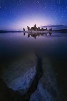 Mono Lake South Tufa at Night
