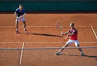 The Hague, Netherlands, 31 July, 2016, Tennis,  The Hague Open, Doubles Final: Tallon Griekspoor (NED) / Tim van Rijthoven (NED) (R)<br /> Photo: Henk Koster/tennisimages.com