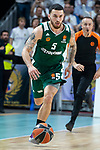 Panathinaikos Mike James during Turkish Airlines Euroleague Quarter Finals 3rd match between Real Madrid and Panathinaikos at Wizink Center in Madrid, Spain. April 25, 2018. (ALTERPHOTOS/Borja B.Hojas)