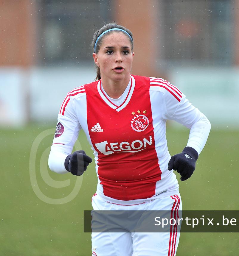 AJAX Amsterdam Dames : Babiche Roof.foto JOKE VUYLSTEKE / Vrouwenteam.be