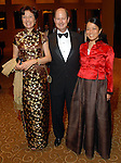 From left: Mamuelita Ureta with Eddie Allen and Chin Hui Allen at the Asia Society Gala at the InterContinental Houston Hotel Thursday Feb. 26, 2009.(Dave Rossman/For the Chronicle)