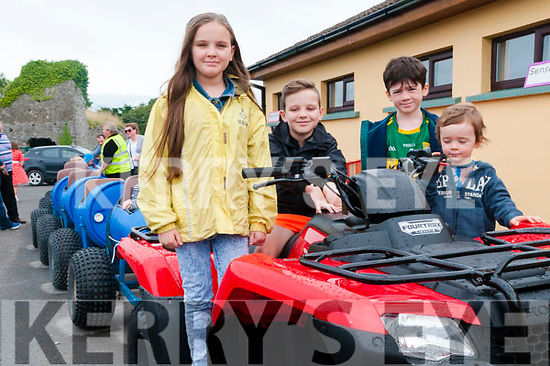 Lixnaw Family Fun Day : Attending  the Lixnaw Family Fun Day At the Lixnaw  GAA grounds were Alana & Eimley O'Reilly & Thomas & Sean Keane.