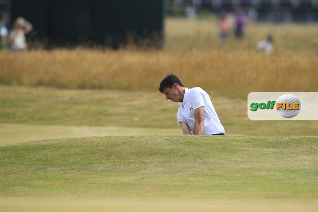Matthew FITZPATRICK (A)(ENG) during round 4 of  The 142th Open Championship Muirfield, Gullane, East Lothian, Scotland 21/7/2013<br /> Picture Eoin Clarke www.golffile.ie: