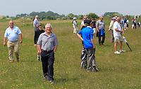 Noel Kelly walking down the 2nd during Round 4 of the East of Ireland Amateur Open Championship sponsored by City North Hotel at Co. Louth Golf club in Baltray on Monday 6th June 2016.<br /> Photo by: Golffile   Thos Caffrey