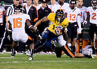 November 12th, 2011:  Michael Calvin of California runs down the field for some yardage during a game against Oregon State at AT&T Park in San Francisco, Ca  -  California defeated Oregon State  23 - 6