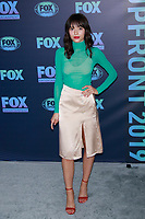 NEW YORK, NY - MAY 13: Elizabeth Cappuccino at the FOX 2019 Upfront at Wollman Rink in Central Park, New York City on May 13, 2019. <br /> CAP/MPI99<br /> ©MPI99/Capital Pictures