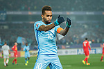 Jiangsu FC Forward Alex Teixeira celebrating his score during the AFC Champions League 2017 Group H match between Jiangsu FC (CHN) vs Adelaide United (AUS) at the Nanjing Olympics Sports Center on 01 March 2017 in Nanjing, China. Photo by Marcio Rodrigo Machado / Power Sport Images
