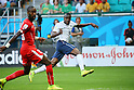 Blaise Matuida (FRA), <br /> JUNE 20, 2014 - Football /Soccer : <br /> 2014 FIFA World Cup Brazil <br /> Group Match -Group E- <br /> between Switzerland 2-5 France <br /> at Arena Fonte Nova, Salvador, Brazil. <br /> (Photo by YUTAKA/AFLO SPORT) [1040]